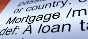 Mortgage Definition Closeup Shows Property Or Real Estate Loan